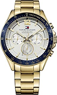 Tommy Hilfiger Men's 1791121 Year-Round Analog Quartz Golden Watch
