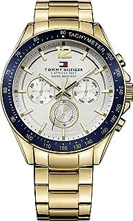 Tommy Hilfiger Men's 1791121 Year-Round Analog Quartz Golden Watch