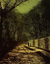 John Atkinson Grimshaw Tree Shadows on The Park Wall, Roundhay Park, Leeds 1872 Leeds Art Gallery 30