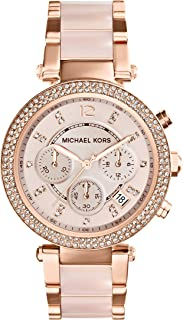 Michael Kors Women's Parker Gold-Tone Watch