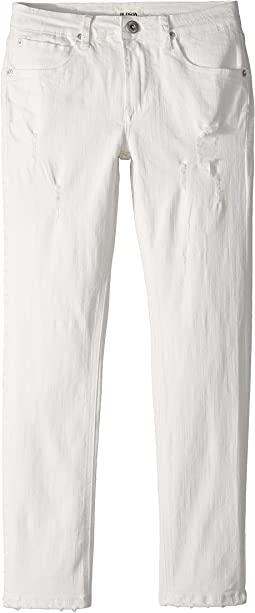 Hudson Kids - Jagger Slim Straight Five-Pocket Jeans in Washed Out (Big Kids)