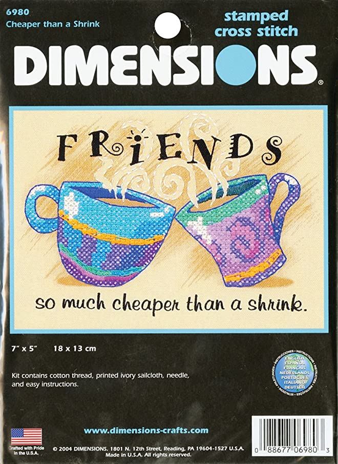 Dimensions Cheaper Than A Shrink Stamped X-Stitch Kit