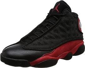Jordan Air 13 Retro Mens Lifestyle Fashion Sneakers Black/True Red-White New 414571-004 - 9.5