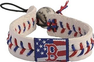 GameWear Boston Red Sox Stars and Stripes Baseball Bracelet