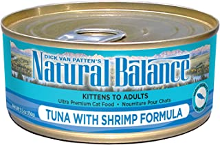 ナチュラルバランス キャットフード キャット缶 ツナ&シュリンプ 5.5オンス(156g)