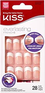 Kiss Everlasting French Nail Kit Medium Infinite Nails, 28 Ea, 28 Count