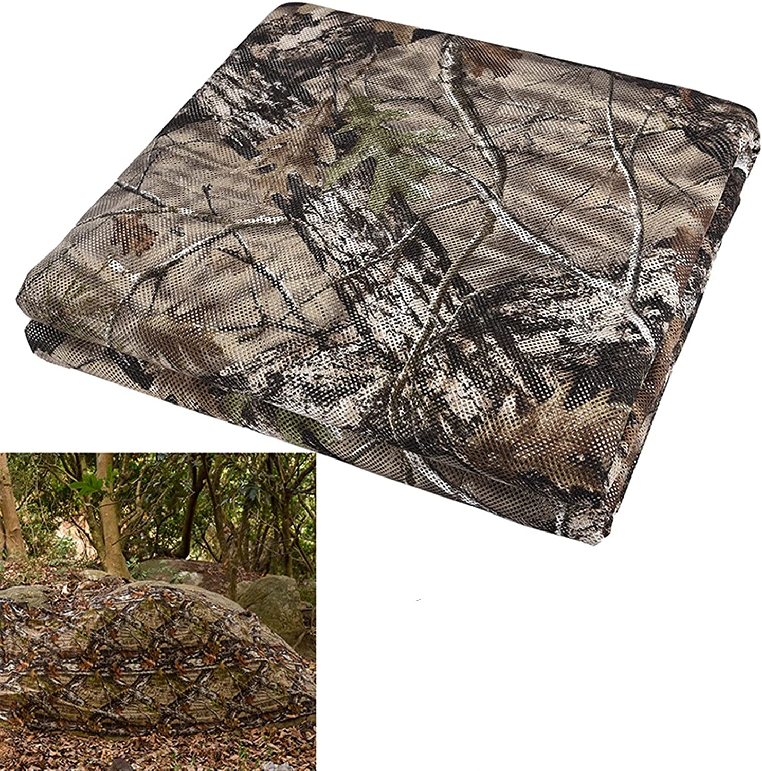 CDQU Outdoor Camouflage net 59 Large ! Super beauty product restock quality top! inches rol W sale
