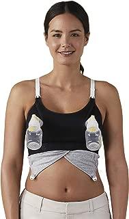 BRAVADO! DESIGNS Women's Maternity Clip and Pump Hands-Free Nursing Bra Accessory, S - XL