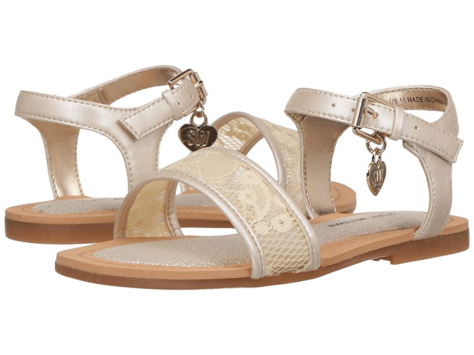 Stuart Weitzman Kids Camia Ava (Toddler) (Off-White) Girls Shoes