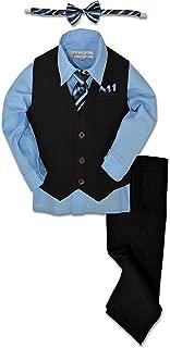 Pinstripe Boys Formal Dresswear Vest Set