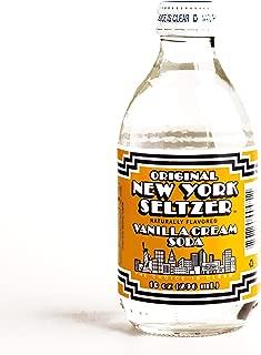 Vanilla Cream Original New York Seltzer 10 oz each (6 Items Per Order)
