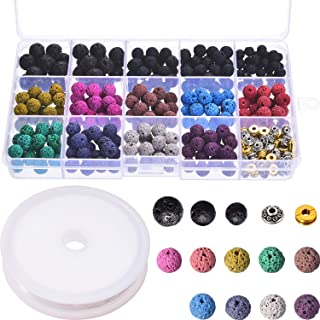Best colored lava rock beads Reviews