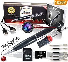 Bol/ígrafo Esp/ía Micro c/ámara oculta Spy Pen visi/ón Video y Audio fotos immagni SD Cam HD 1280/x 960/Mini Camera
