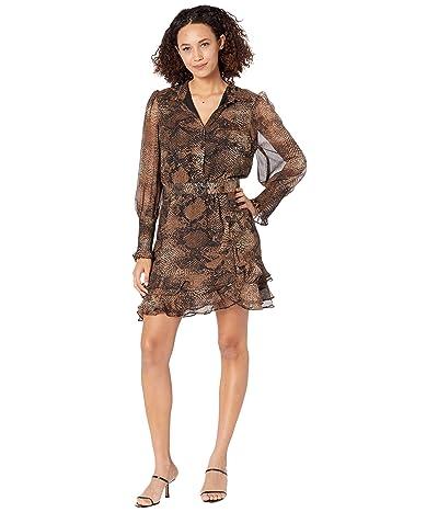 Bardot Bessie Snake Mini Dress Women