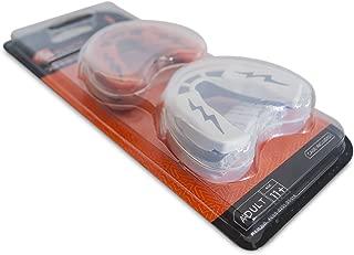 SHOCK Doctor v1.5两件装 RUGBY 牙齿保护套–白色 / 黑色 / 橙色 / 黑色