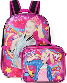 Nickelodeon Jojo Siwa Backpack Lunchbag Set (Rainbow)