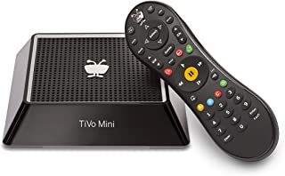 TiVo Mini with IR/RF Remote - No Monthly Service Fees - Extends Your TiVo DVR (Renewed)