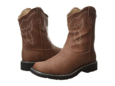 Roper 8 Chunk Boot (Brown) Cowboy Boots