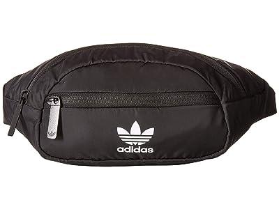 adidas Originals Originals National Waist Pack (Black/White 2) Travel Pouch