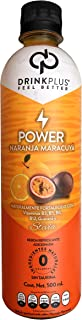 DrinkPlus Bebida Pasteurizada Adicionada, Naranja Maracuyá, 500 ml
