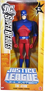 """THE ATOM Justice League Unlimited 10"""" Figure DC Animated Mattel JLU NEW SEALED"""