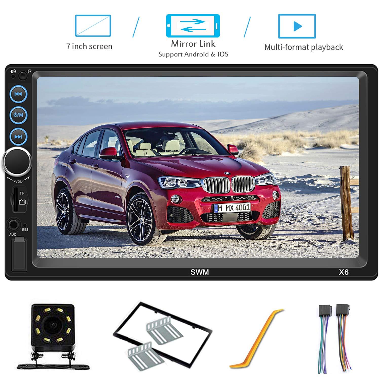 Compatible Bluetooth Headunit Touchscreen Rear View