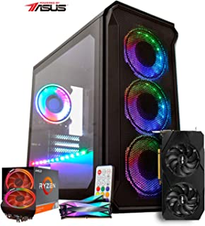 PC ITX GAMER FPS HEADSHOT/RYZEN 9 3900x / GTX 1660 6GB SUPER DUAL / 16GB RAM/SSD 240GB / GABINETE EXTERMINADOR RGB