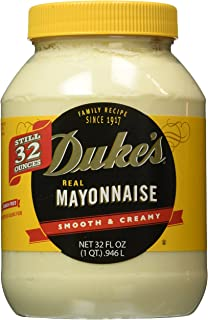 Duke's Real Smooth & Creamy Mayonnaise, 32 oz