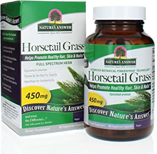 Sponsored Ad - Nature's Answer Horsetail Herb Capsules 90 Count | Hair, Skin, & Nails Support | Promotes Urinary Tract Hea...