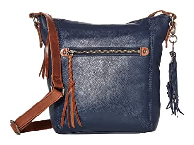 The Sak Ashland Crossbody (Indigo) Cross Body Handbags