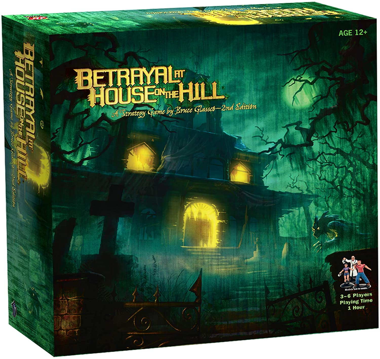 Betrayal At House On The Hill Board Game  $19.25 Coupon