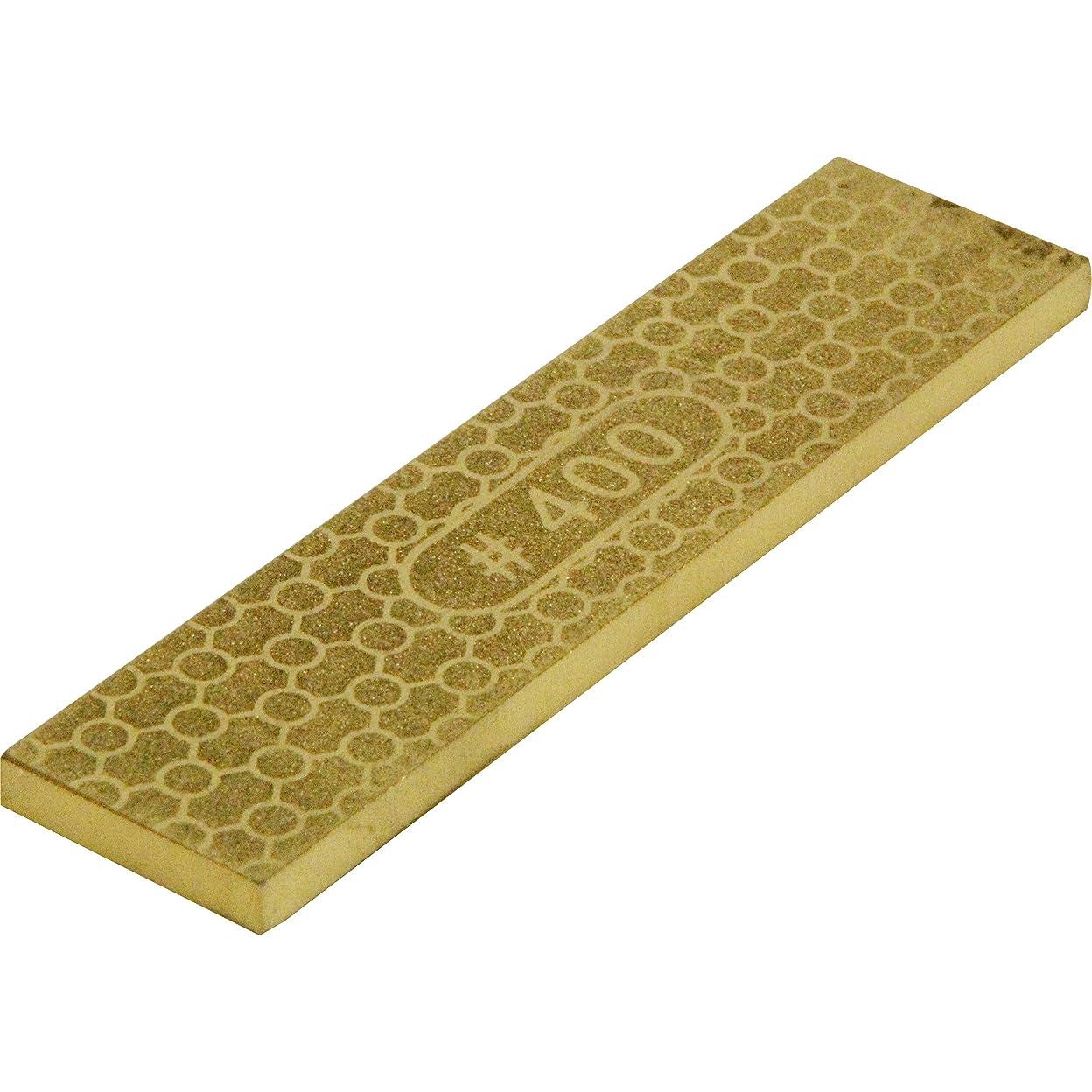 避けられないパニックまろやかなSK11 両面ダイヤモンドプレート GOLD #400 #1000 25×100×5mm