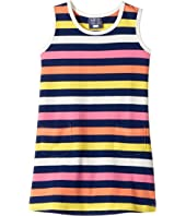 Toobydoo - Santa Monica Stripe Dress (Infant/Toddler)