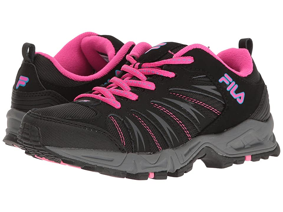Fila Trailbuster 2 (Black/Atomic Blue/Pink Glo) Women's Shoes