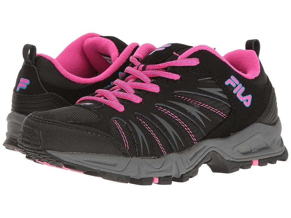 Fila Trailbuster 2 (Black/Atomic Blue/Pink Glo) Women