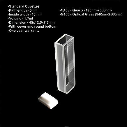 Amazon com: 5mm - Cuvettes / Glassware & Labware: Industrial