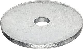 Carbon Steel Type B Flat Washer, Meets ANSI B18.22.1, 7/16