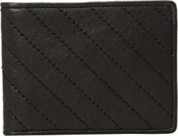 Napoli Quilted Eight-Pocket Deluxe Executive Wallet
