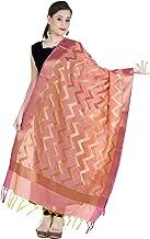 Chandrakala Women`s Handwoven Zari Work Indian Ethnic Banarasi Dupatta Stole Scarf(D111)