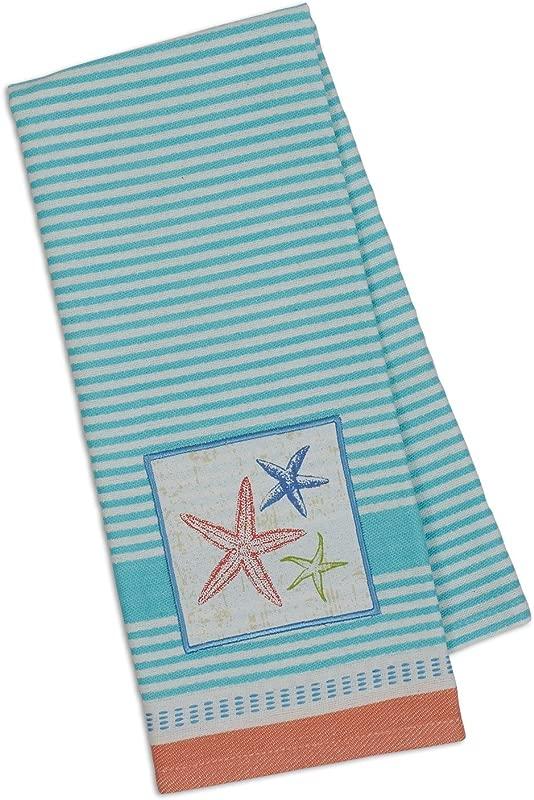 Design Imports DII Embellished Dishtowel Sea Stars