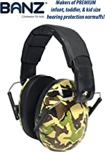 Foldable Design Ear Defenders Adjustable Padded Headband Noise Reduction,Great Toy Gift for Boys and Girls Toddlers Kids Hearing Protection Earmuffs Ear Mufs forAutism IJKLMNOP Ear Defenders