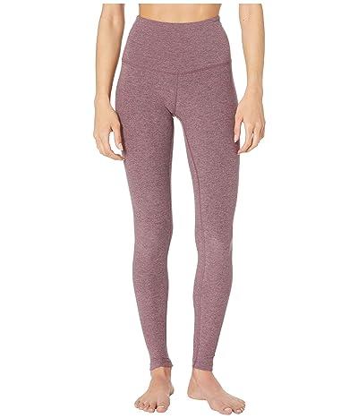 Beyond Yoga Spacedye Take Me Higher Long Leggings (Deep Blush/Wild Orchid) Women