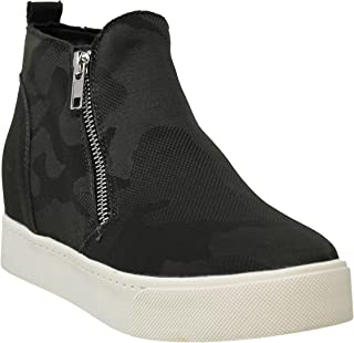 MVE Shoes Womens Stylish Soda Comfortable Platformed High Top Sneaker