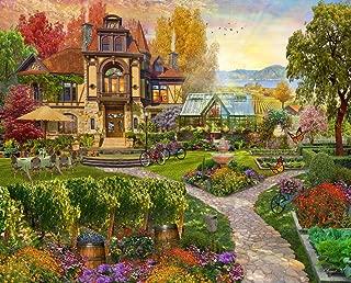 Springbok Puzzles - Vineyard Retreat- 500 Piece Jigsaw Puzzle - Large 23.5 by 18