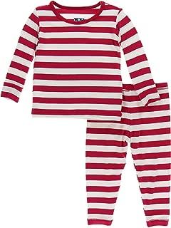 KicKee Pants Print Long Sleeve Pajama Set | Winter Celebrations 2019 Collection |
