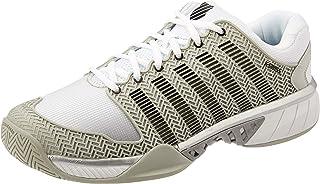 K Swiss Hypercourt Express Men's Tennis Shoe; Genuine Leather Upper; Hard Wearing; Stylish; Player's Tennis Shoe; Athlete