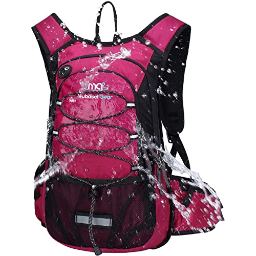 Mubasel Gear Insulated Hydration Backpack Pack with 2L BPA Free Bladder - Keeps Liquid Cool up