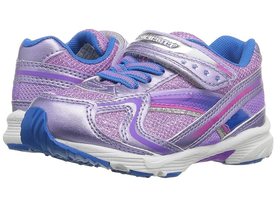 Tsukihoshi Kids B. Glitz (Toddler) (Purple/Royal) Girls Shoes