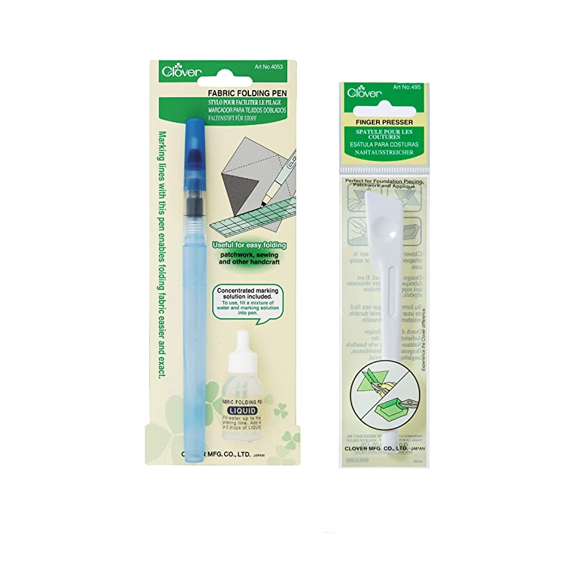 Clover E006 Folding Bundle Fabric Pens, 123, Multiple 2