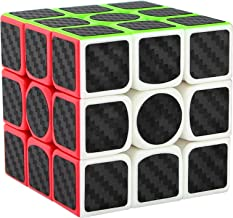 Dreampark 3x3x3 Speed Cube Carbon Fiber Sticker Smooth Magic Cube Puzzles
